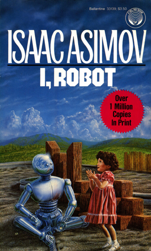 short book reviews i robot by isaac asimov 1950. Black Bedroom Furniture Sets. Home Design Ideas